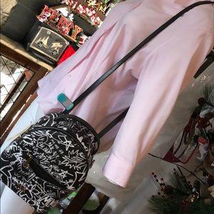 Michael Kors convertible Backpack graffiti cross